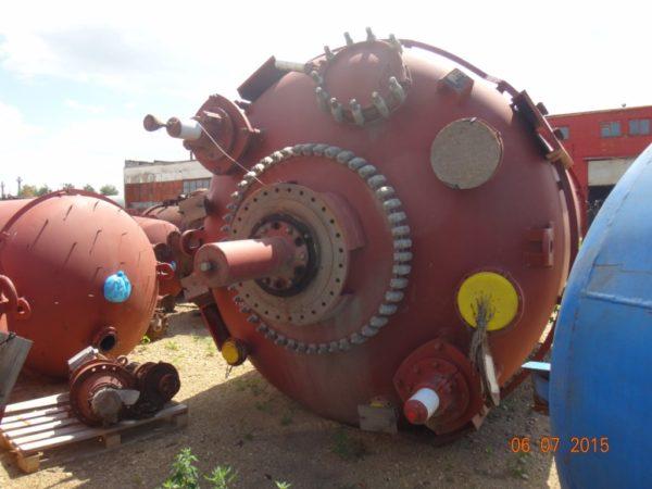 Химический реактор Pfaudler объём 7 200 литров
