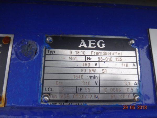Двух шнековый экструдер Berstorff ZE 60/64A x 13/15D