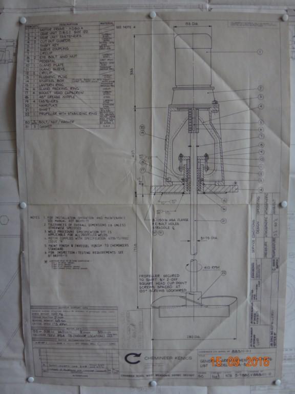 Перемешивающее устройство Chemineer