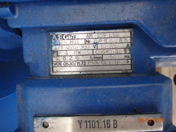 Двух шнековый экструдер Berstorff ZE 130A x 30D