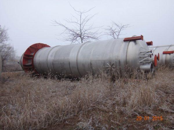 Бункер для порошка (силос) объём 80 000 – 100 000 литров