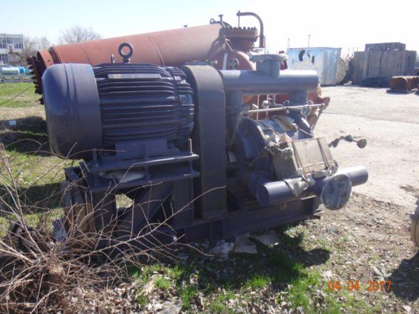 Водокольцевой насос-компрессор Nash тип CL 1400