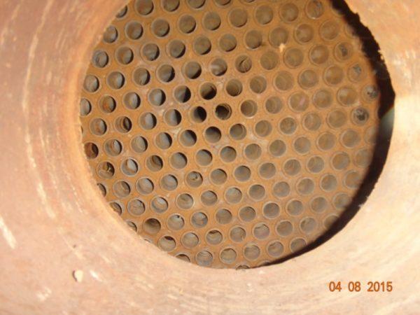 Теплообменник кожухотрубный F=40 м.кв