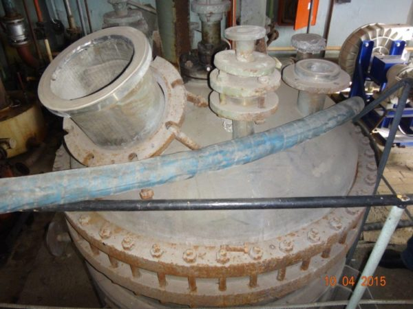 Химический реактор объём 1 000 литров материал титан ВТ1-0