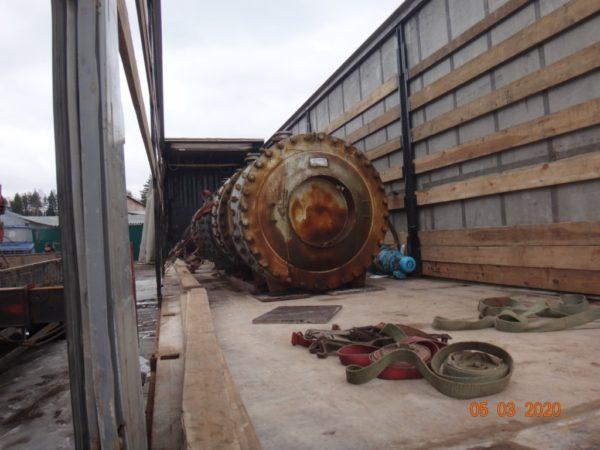Теплообменник спиральный тип ТС 2-3-20-8-1