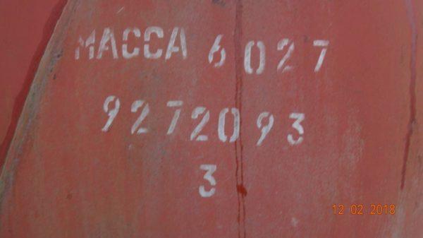 Ёмкость горизонтальная тип ГЭЭ1-1-50-0,6К