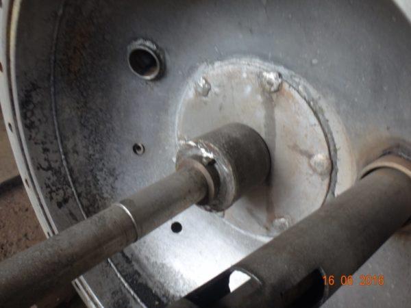 Химический реактор с диспергирующей мешалкой объём 300 литров