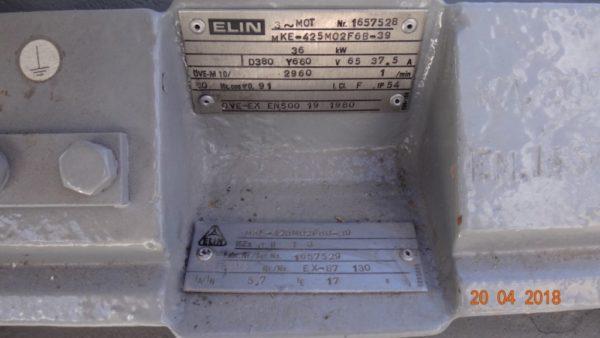 Циркуляционный насос термального масла с магнитным приводом тип NMWhu 65/250