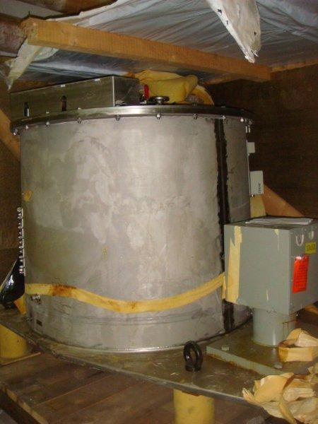 Вертикальная центрифуга тип VZU 125/3,2 Krauss Maffei AG