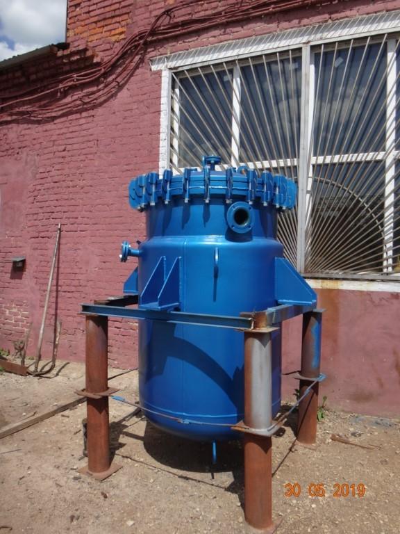 Теплообменник стальной эмалированный тип СЭс–10-02