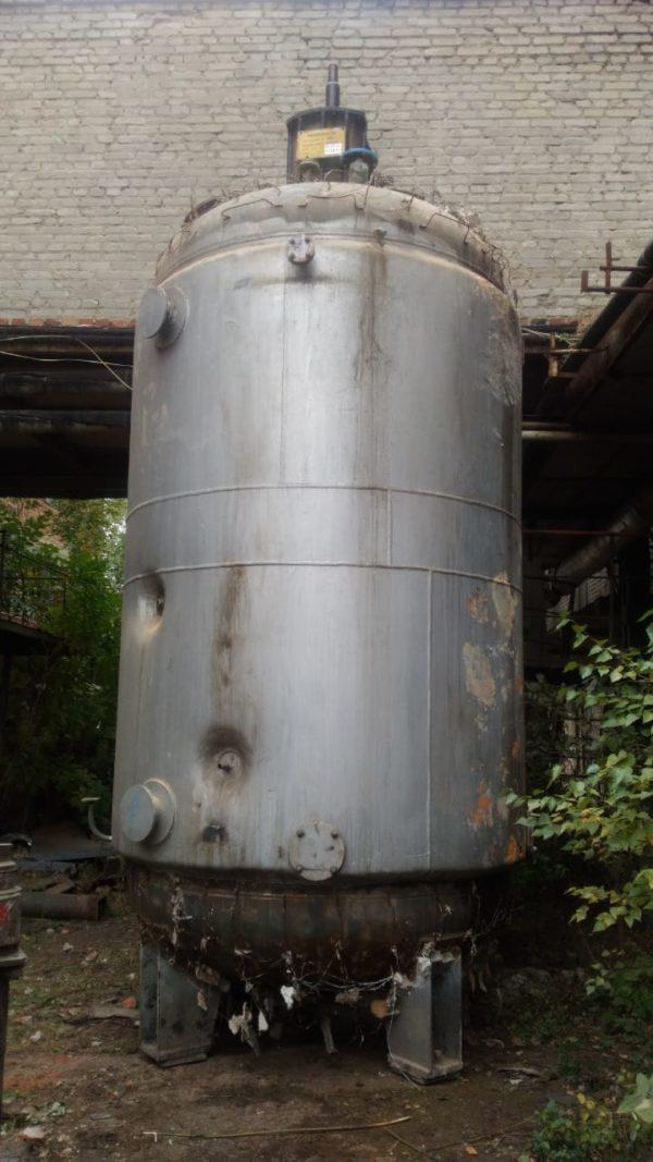 Ферментер (аппарат с перемешивающим устройством) объём 16 м.куб.