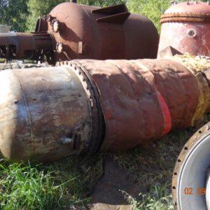 Ректификационная колонна с кольцами Рашига ЭП 567 (Хастеллой ХН65МВ)
