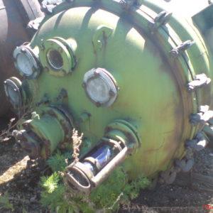 Аппарат сталь- эмаль с перемешивающим устройством (корпус) объём 1,6 м.куб.