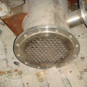 Теплообменник кожухотрубный F = 9 м.кв