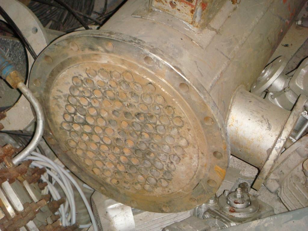 Теплообменник кожухотрубный F = 1,5 м.кв