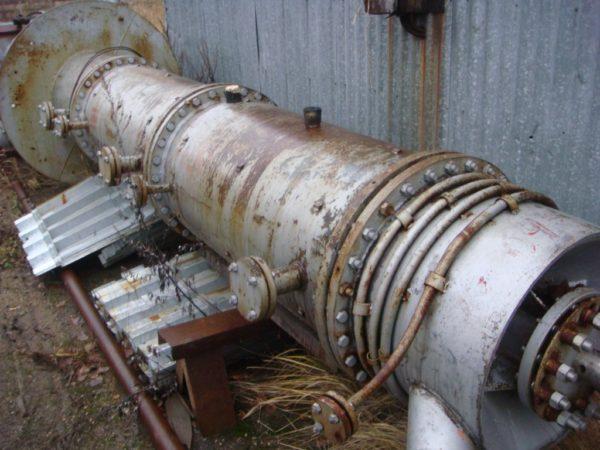 Роторно пленочный испаритель тип 600-6,3К-01
