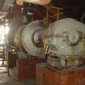 Барабанная роторно ваккуумная сушилка тип СВЦР-4К (РВ 1,2-4ВК)