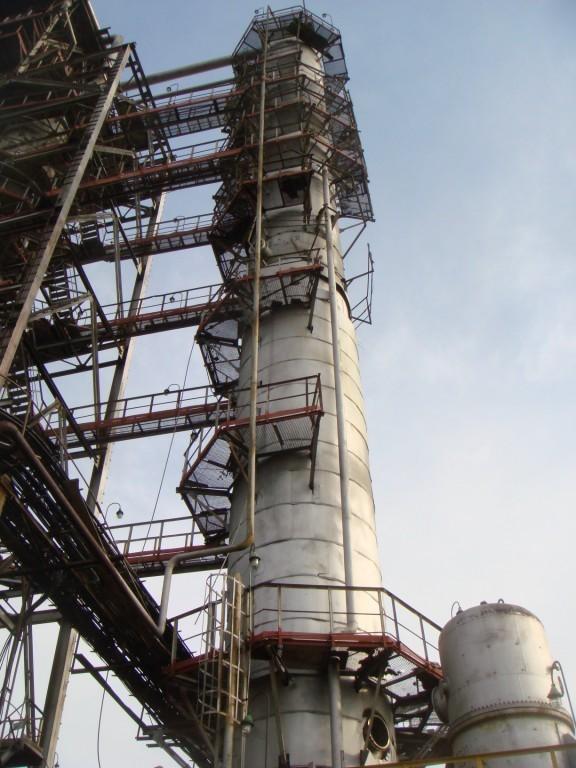Ректификационная колонна диаметр 3 400 мм