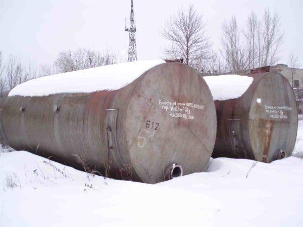 Ёмкость Объём 63 М.Куб.