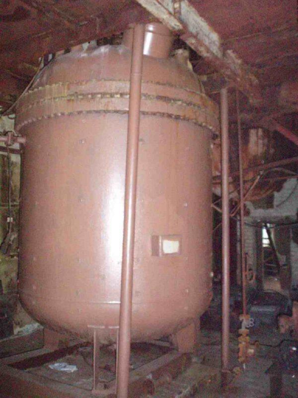 Реактор (автоклав) объём 6,3 м.куб.