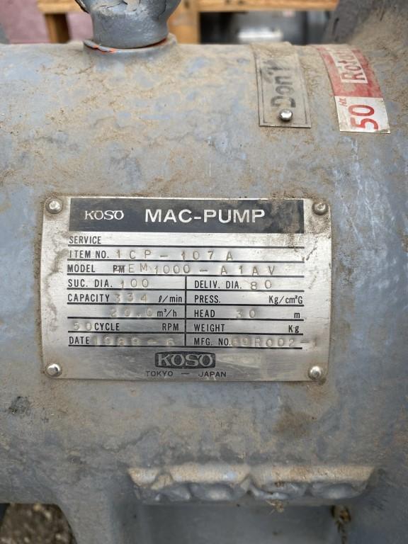 Химический насос KOSO MAC-PUMP